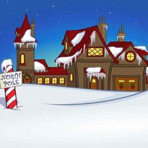 north pole factory